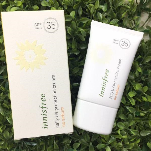 Kem chống nắng Innisfree Daily UV Protection No Sebum SPF35 PA+++