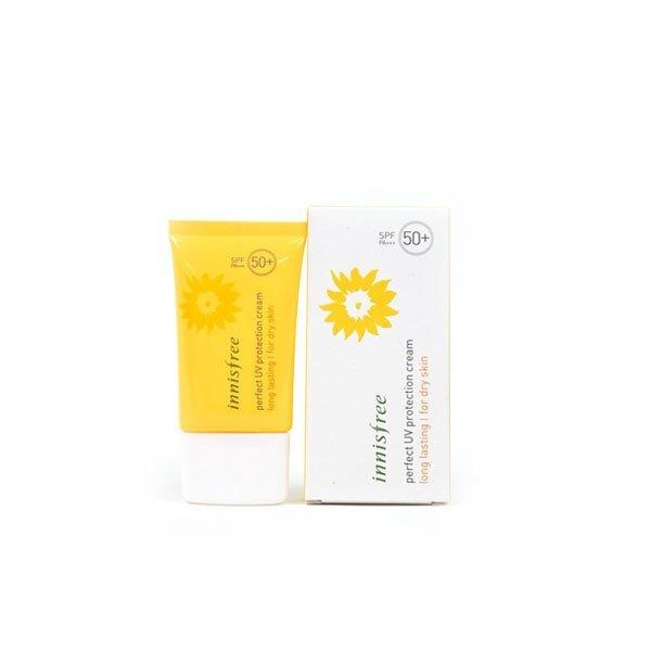Kem chống nắng Innisfree Perfect uv Protection Cream Long Lasting For Oily Skin SPF 50+, PA+++